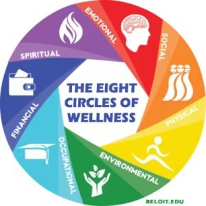 The 8 Circles of Wellness